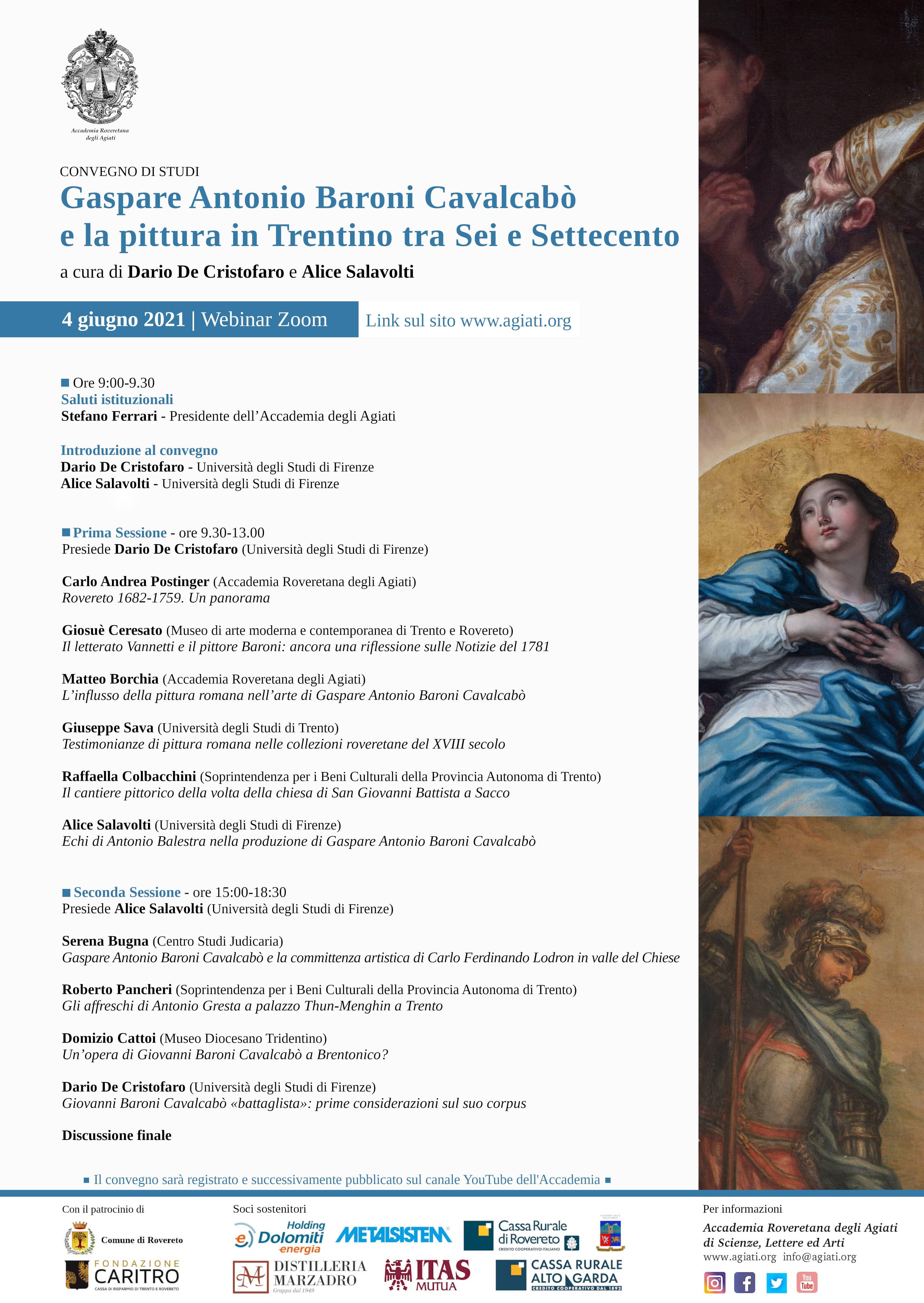Gaspare Antonio Baroni Cavalcabò e la pittura in Trentino tra Sei e Settecento
